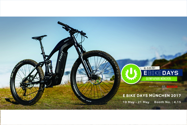 BESV News & Events | Visit Us at 2017 E-Bike Days in Munich 5/19-5/21, Experience BESV!