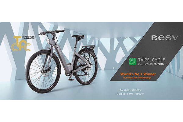 BESV News & Events | BESV CF1 receives the Taipei Cycle d&i Award! Come visit us to experience the amazement of BESV!