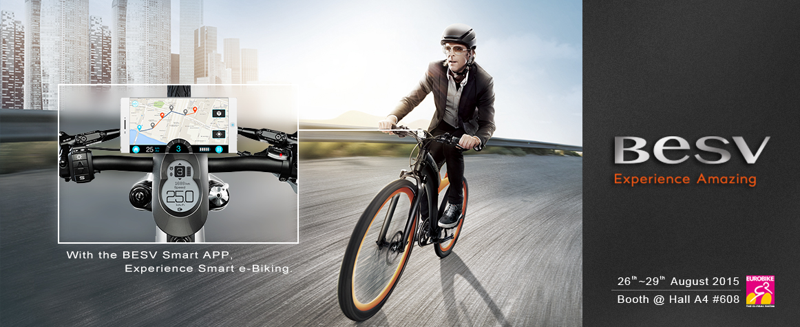 BESV News & Events | Experience BESV e-bikes and smart life at Eurobike during 8/26-8/29!