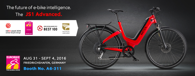BESV News & Events | Experience Amazing with BESV Premium e-Bike at Eurobike during 8/31-9/4