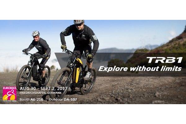 BESV News & Events | Explore without limits – TRB 1 will represent on 2017 EUROBIKE !