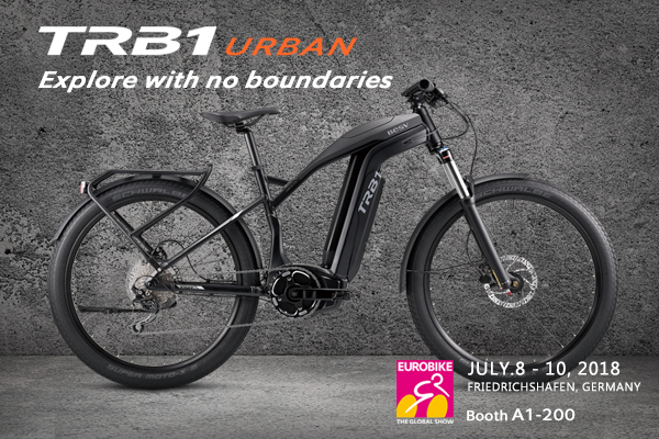 BESV News & Events | TRB1 URBAN - Explore with no boundaries at Eurobike 2018