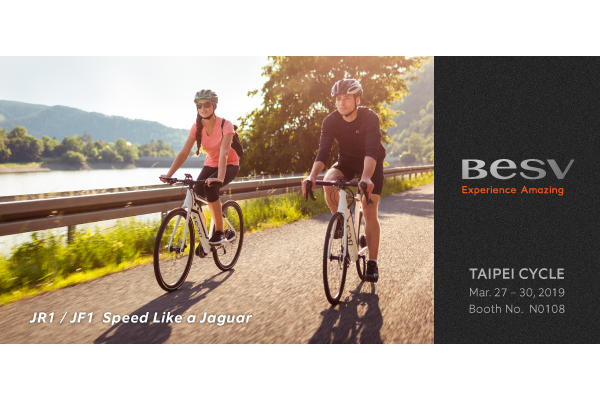 BESV News & Events | JR1 & JF1 – Speed like a jaguar at Taipei Cycle 2019