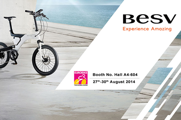 BESV News & Events | BESV will showcase complete product line in Eurobike 2014.