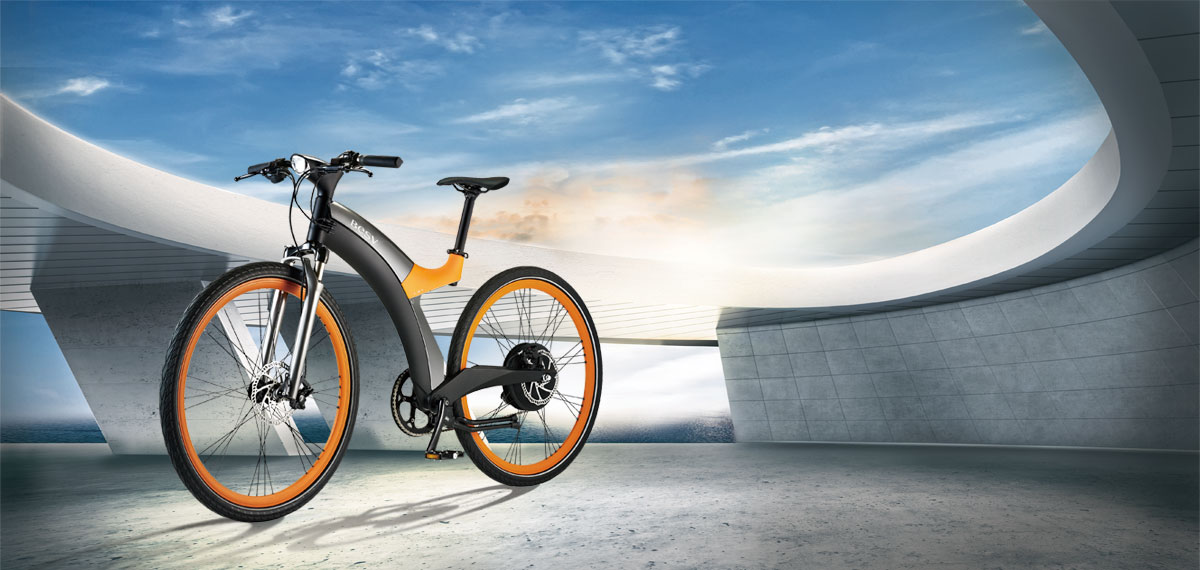 Besv Lx 1 Premium Pedal Assisted Electric Bicycle